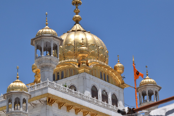 Sikh temple; the origin of Sa Ta Na Ma meditation